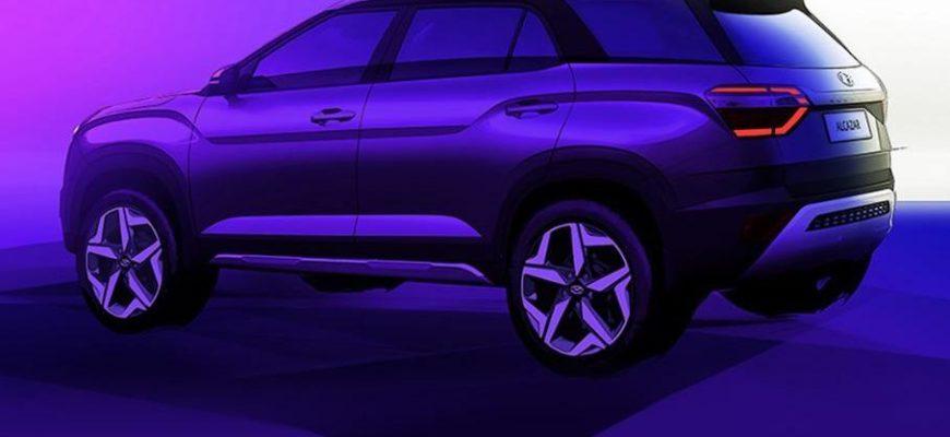 Они удлинили «Крету»: представлен Hyundai Alcazar
