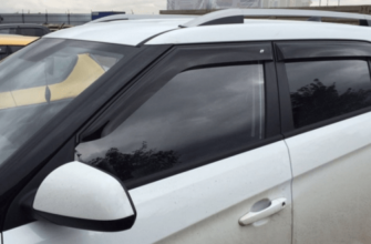 Какие дефлекторы лучше для Hyundai Creta ? SIM, Vinguru, COBRA TUNING