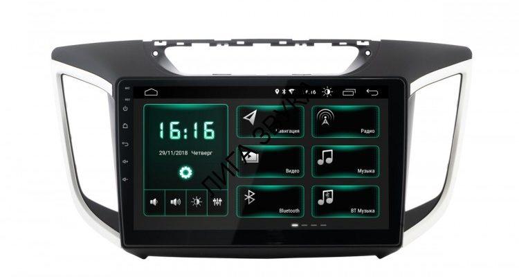 Штатная магнитола Hyundai Creta 2016  Incar XTA-2410 Android 8.1  - купить в Москве, цена 22 890 руб.  