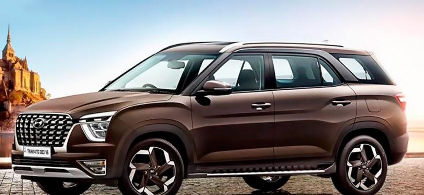 Семиместную Hyundai Creta снова поймали на тестах – на этот раз вместе с минивэном Kia - КОЛЕСА.ру – автомобильный журнал