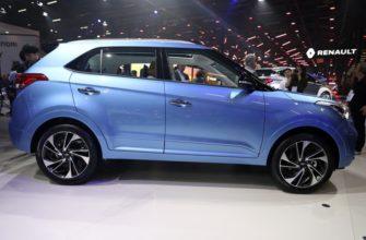 Hyundai Creta Diamond: белая кожа и телевизоры — Авторевю