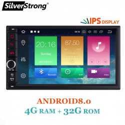 Автомобильное головное устройство SilverStrong 4 32Гб Android 8.0 2DIN - оно того стоит