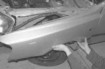 Снятие заднего крыла Hyundai Creta. Ремонт ОТ и ДО