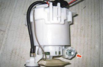 Замена топливного фильтра на Хендай Крета: видео