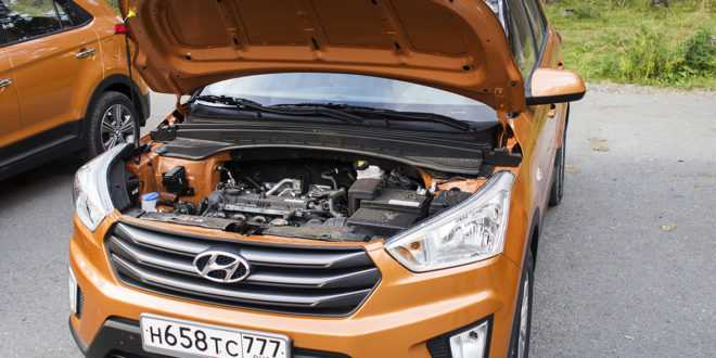 Корейский двигатель 2 литра Хендай Крета - характеристики