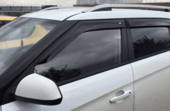 Какие дефлекторы лучше для Hyundai Creta ? SIM, Vinguru, COBRA TUNING - Хендай Крета Клуб