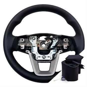 Оплетка на руль на Hyundai Creta (2016-2021) из кожи - Купить за 1 350 руб. в магазине Автоточка
