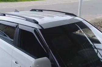 Купить Рейлинги на Hyundai Creta 2015 - 2019 -