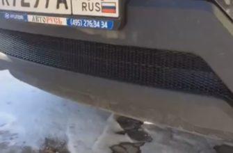 Сетка радиатора Hyundai Creta для защиты от грязи, камней и мусора