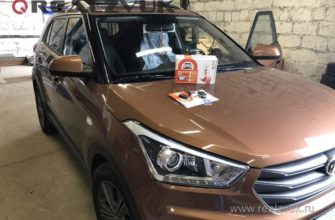 Установка сигнализации на Hyundai Creta   RealZvuk