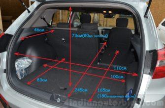 Объем багажника хендай грета в литрах | Авто Брянск