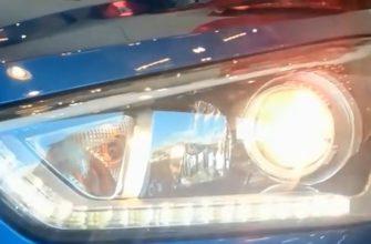 Замена ламп ближний/дальний на Хендай Крета. Фото, инструкция как поменять лампы ближнего и дальнего света на Хендай Грета.